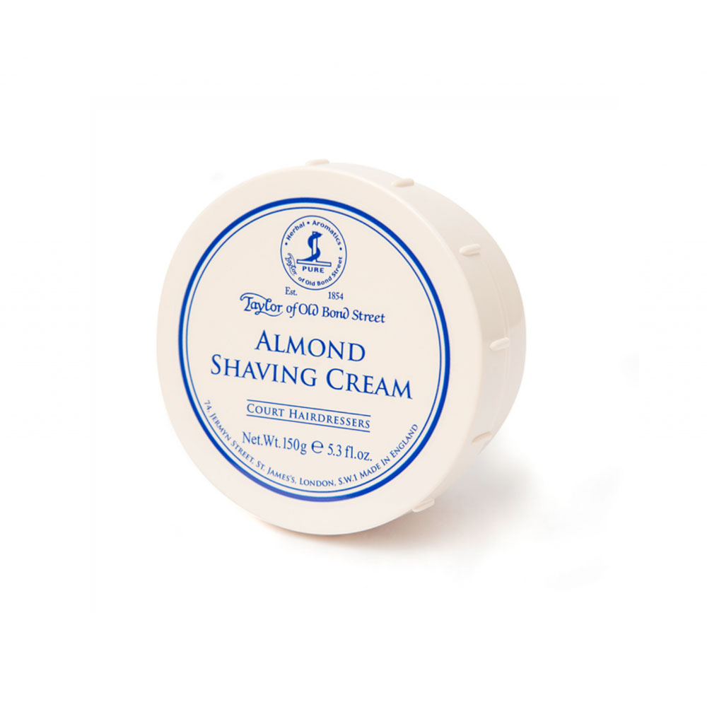 Taylor - Almond -  Shaving cream - 150g