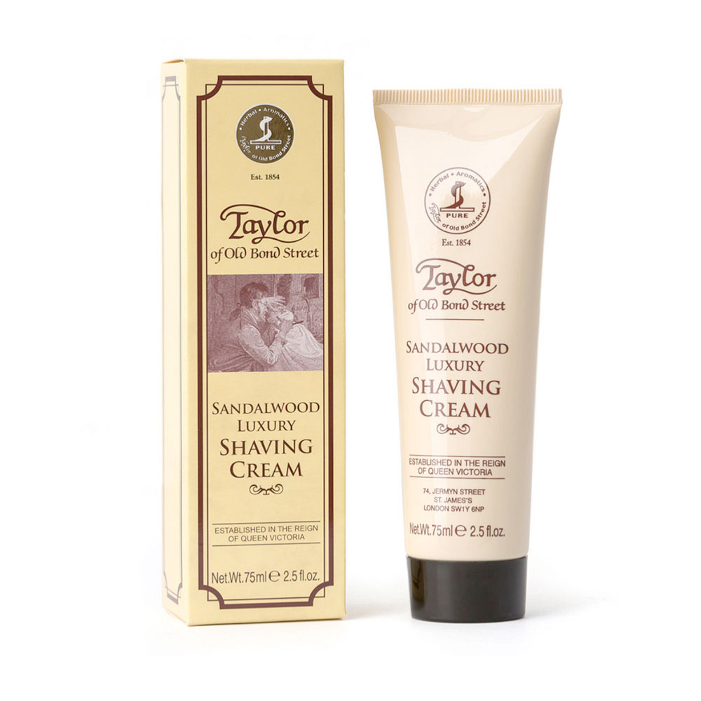 Taylor - Sandalwood - Shaving cream - Tube - 75ml