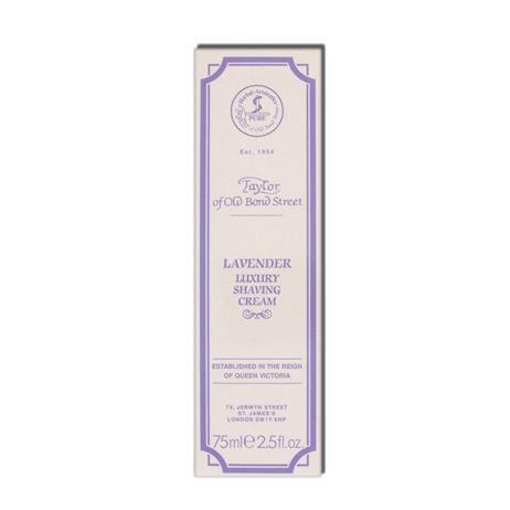 Taylor - Lavender - Shaving cream - Tube - 75ml