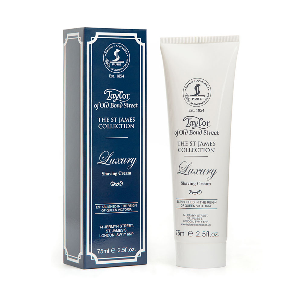 Taylor - St James - Shaving Cream - Tube - 75ml