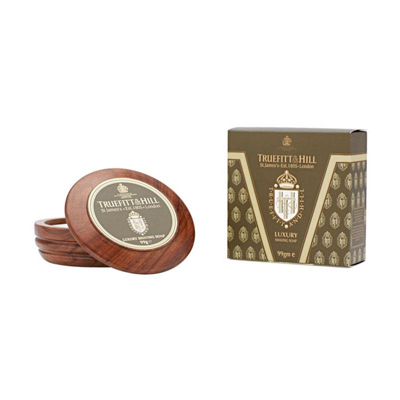 Truefitt - Luxury savon à barbe - 100g