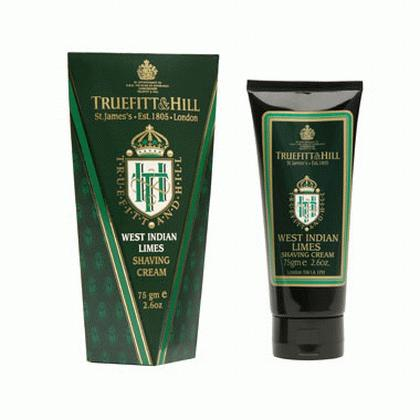 Truefitt - West Indian Limes tube of shaving cream - 75g