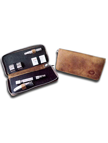 Dovo - Travel Shaving Case - Camel