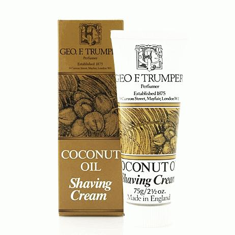 Trumper - Coconut oil - Shaving cream tube - 75g