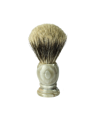 1Barber - Best Badger Shaving Brush - Horn - 21mm