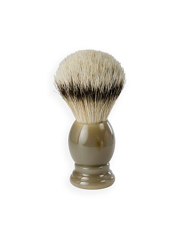 1Barber - SilverTip Shaving Brush - Horn - 21mm