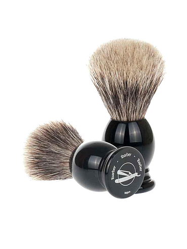 1Barber - Blaireau Best Badger - Noir - 21mm