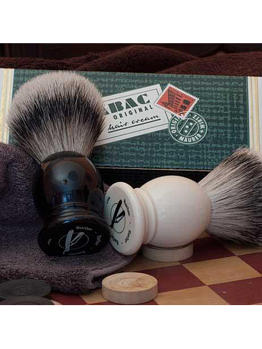 1Barber - SilverTip Shaving Brush - Black - 21mm