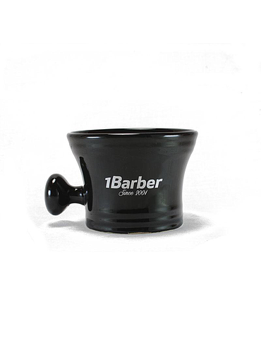 1Barber - Black porcelain bowl