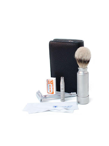 Dovo - Safety razor travel kit