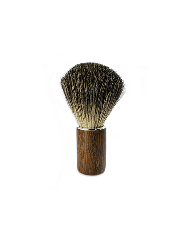Wasa - Pure badger Shaving Brush - Walnut - 21mm