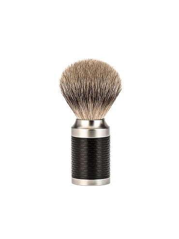 Muehle - Rocca - Shaving brush - Silvertip - Carbon fiber - 21mm
