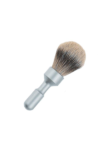 Merkur - Futur - Silvertip Shaving Brush - Satin - 23mm