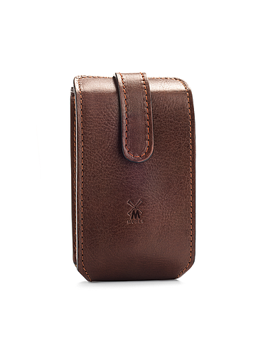 Muehle - Travel leather pouch for razor and shaving brush