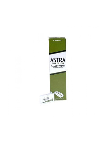 Astra - Pack of Platinum Safety Razor Blades - 100 blades