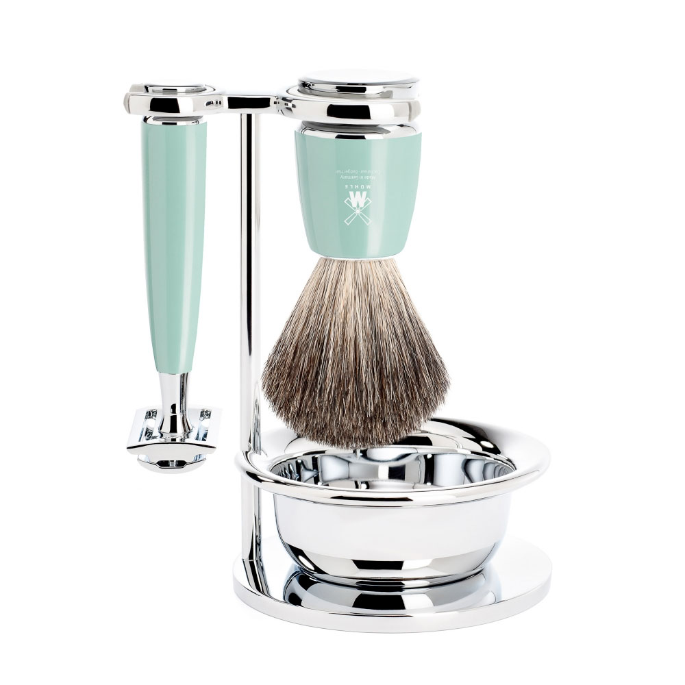 Muehle - Rythmo - Mint Resin -  Pure Badger