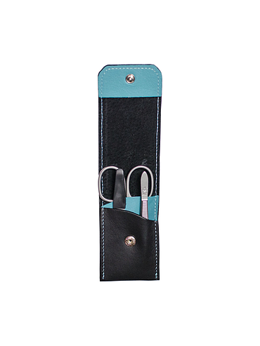 Dovo - Manicure Set - Black / Blue
