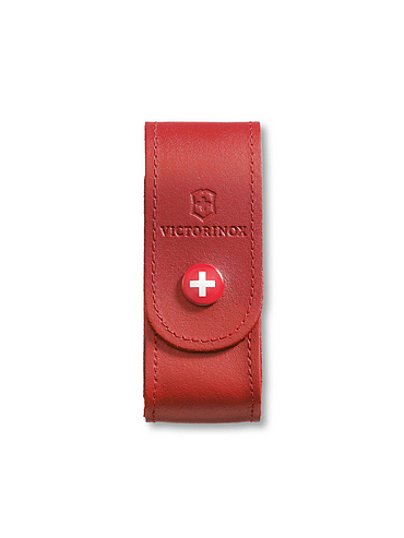 Victorinox - Leather Belt Pouch - Red