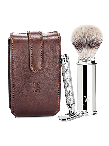 Muehle - leather Travel Kit