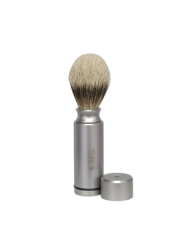 Dovo - Silvertip Travel Shaving Brush - 19mm