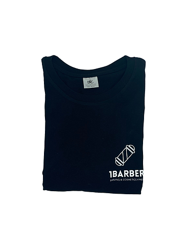 1Barber - Black T-Shirt size XL