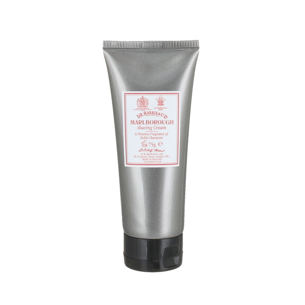 D.R. Harris - Marlborough - Crème à raser - Tube - 75g