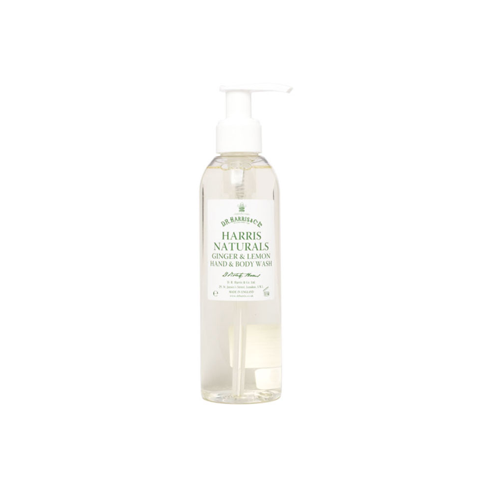 D.R. Harris - Gingembre & Citron - Savon mains et corps - 200ml