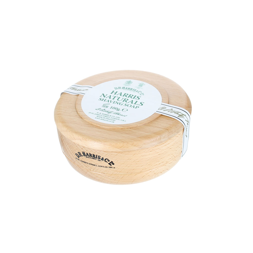 D.R. Harris - Naturel - Savon à barbe - 100g