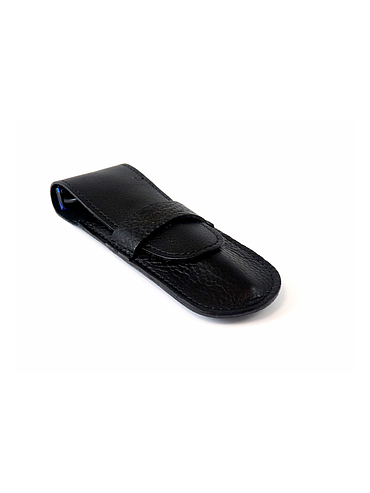 Gentleman - Straight razor leather case - Black