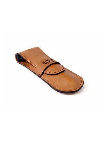 Gentleman - Straight razor leather case - Light Brown