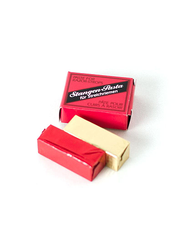 Herold - Strangen Green / Red stropping paste