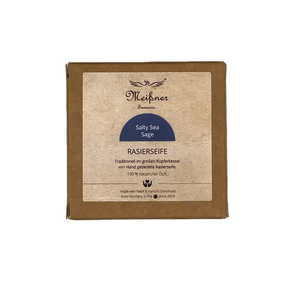 Meissner - Savon à barbe - Salty sea Sage - Carton - 95g