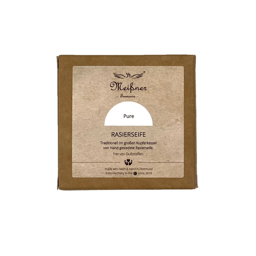 Meissner - Savon à barbe - Puristic Style - Carton - 95g