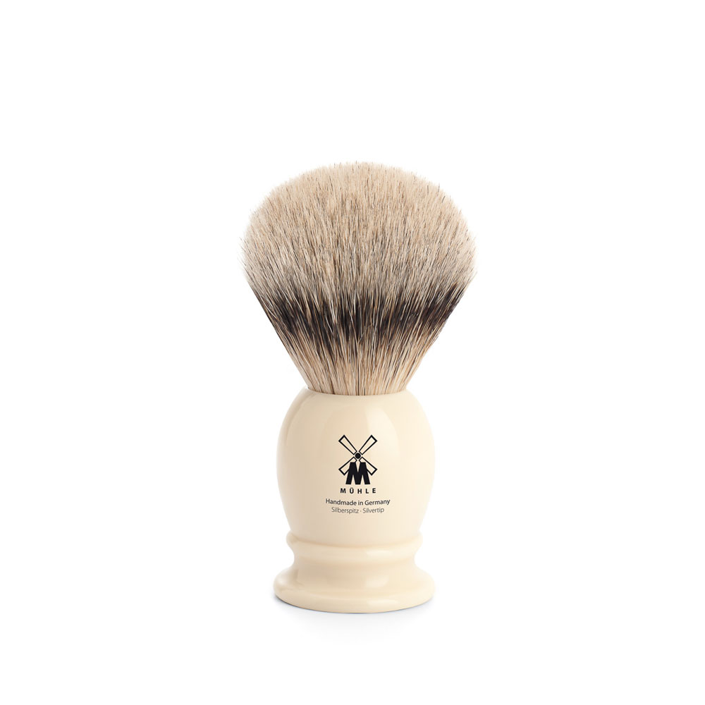 Muehle - Classic - Blaireau  - Silvertip - 19mm