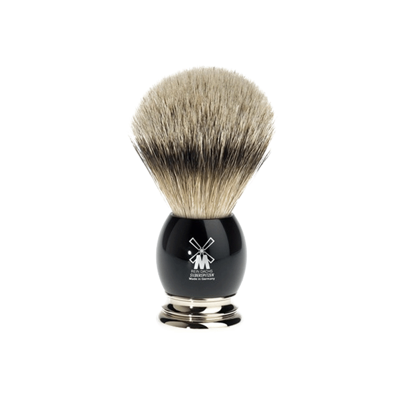 Muehle - Sophist - Silvertip Badger - Black resin - 23mm
