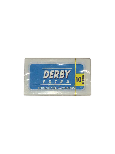 Derby - Blue Safety Razor Blades