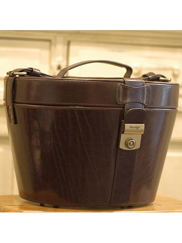 Partridge - Leather Hatbox