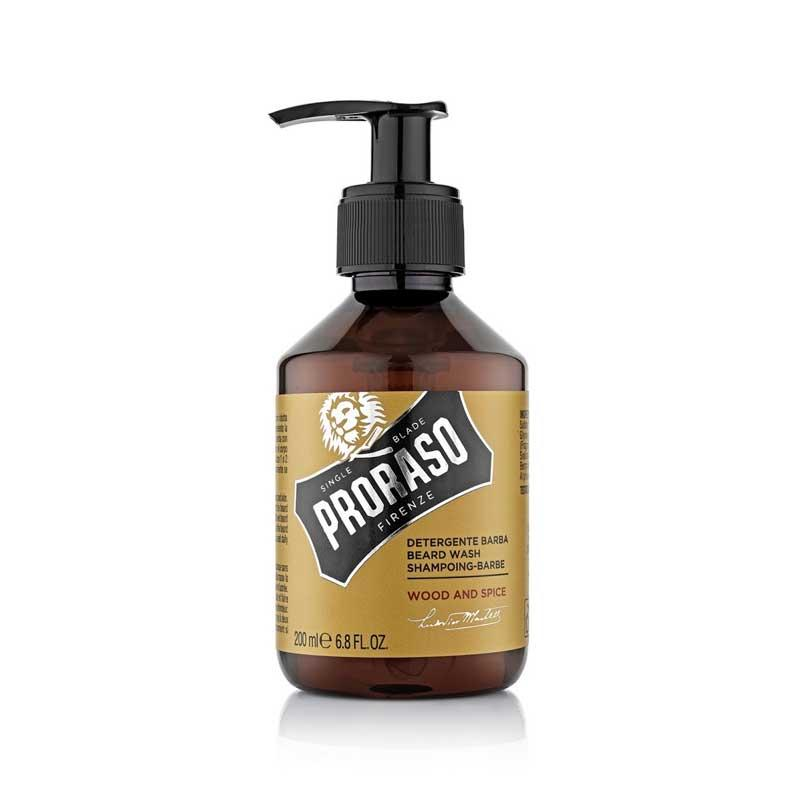 Proraso - Shampoing à Barbe - Wood and Spice - 200ml
