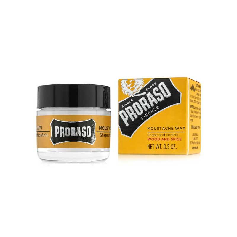 Proraso - Cire à Moustache Wood and Spice - 15ml