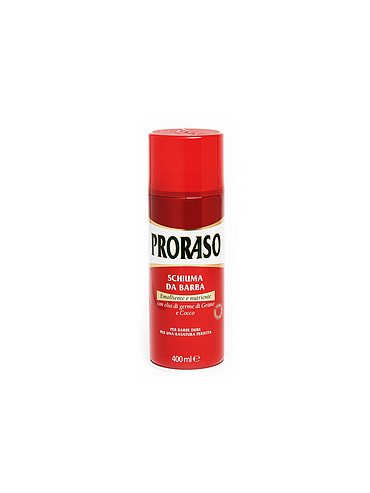 Proraso - Mousse à raser Rouge - 400ml