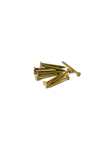 Brass razor pivot pins 1.5 x 16mm - 10 pcs